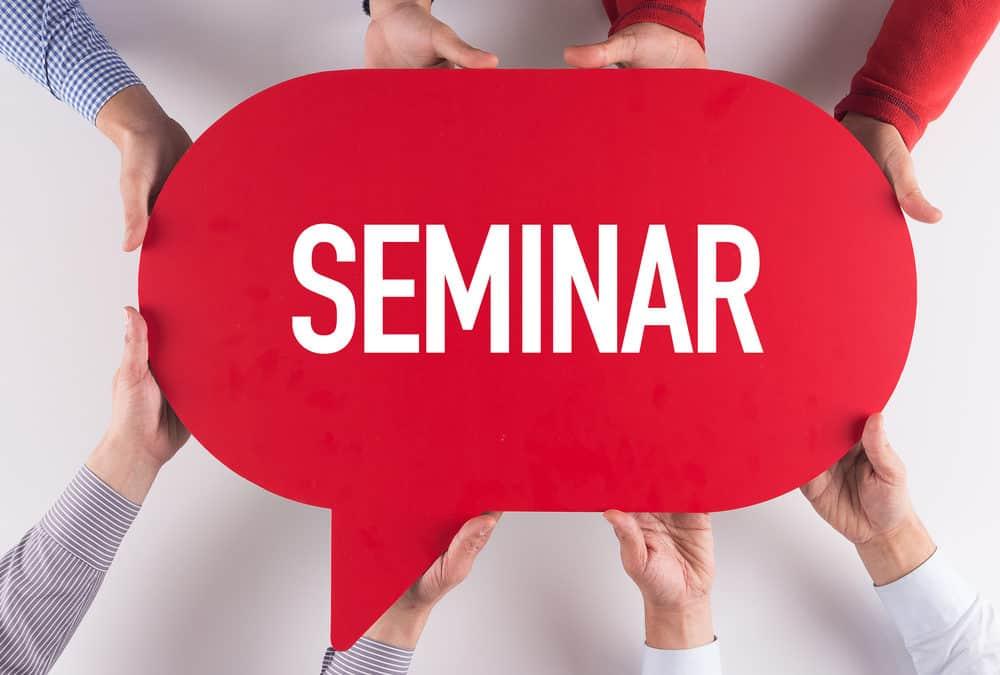 Special 'open' professional development seminar