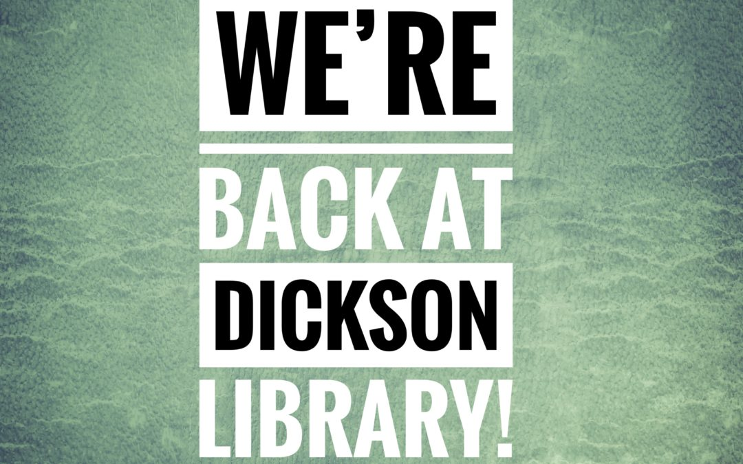 JP services return to Dickson Library